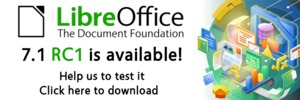 Banner LibreOffice 7.1 RC1