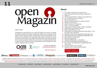 Klepnutím stáhnete OpenMagazin