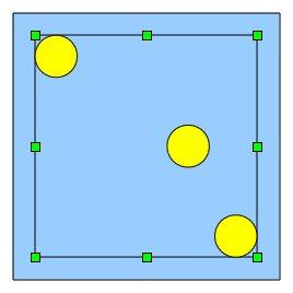 Obrázek 12: Příprava před zarovnáním třetího oka na střed
