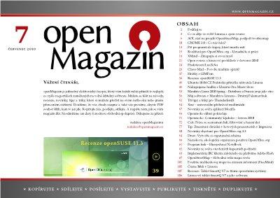 openMagazin 07/2010