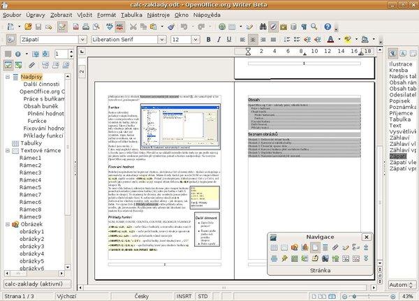 Writer 3.0 beta, Ubuntu 8.04 Hardy Heron