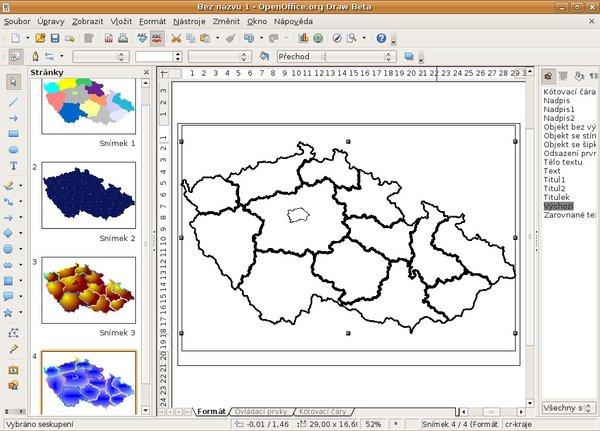 Draw z balíku 3 beta, Ubuntu Hardy Heron