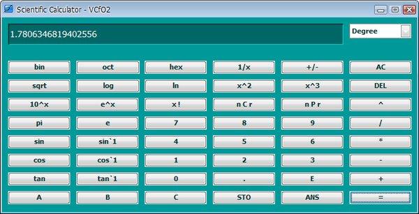 Kalkulačka dobře poslouží k jednoduchým i pokročilým výpočtům v různých soustavách
