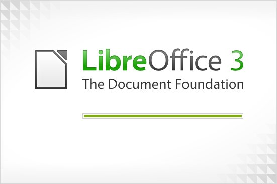 Splash screen LibreOffice