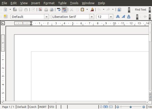 LibreOffice instalované přes PPA je v angličtině – dokud jej nepočeštíte.
