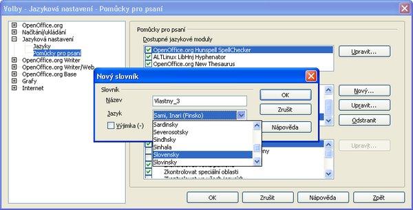 Vytvorenie nového slovenského slovníka