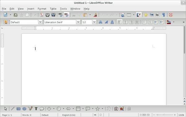 Nepěkný vzhled LibreOffice při použití některých motivů