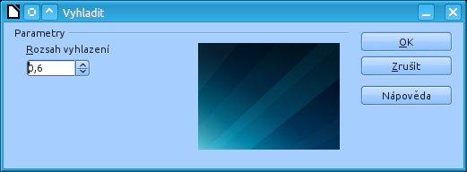 S pomocí okna Vyhladit lze nyní regulovat sílu vyhlazení obrázků