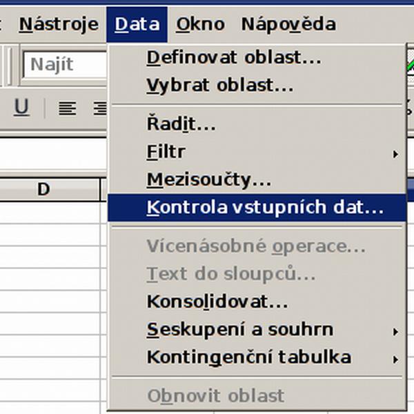 25_0 Kontrola vstupnÝch dat