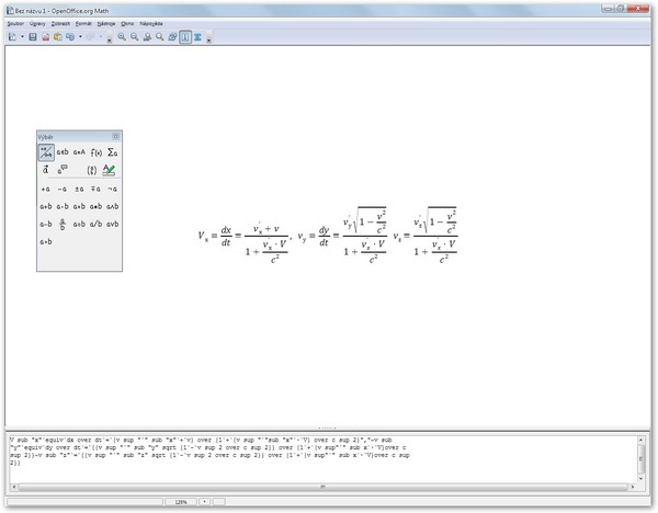 OpenOffice.org Math