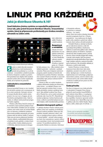 Náhled článku v časopise Connect