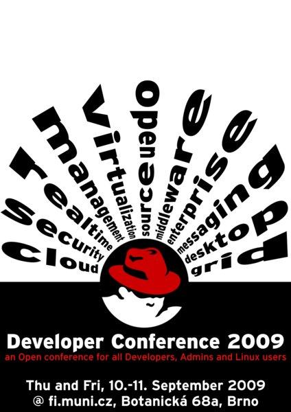 Red Hat: Vývojářská konference 2009