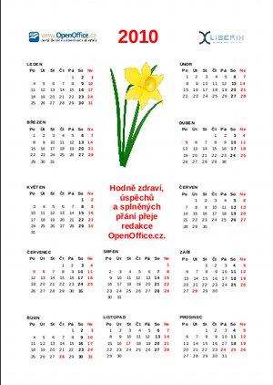 Kalendář na rok 2010