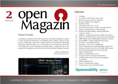 OpenMagazin 02/2010