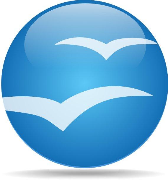 Návrh loga vytvořený v CorelDraw se o mnoho neliší od návrhu vytvořeném v OpenOffice.org Draw