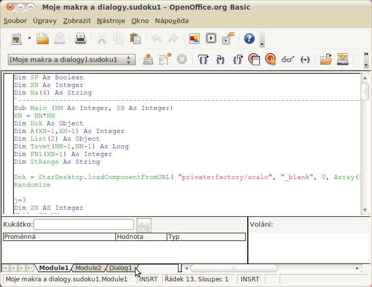 Editor maker neboli integrované vývojové prostředí (IDE)