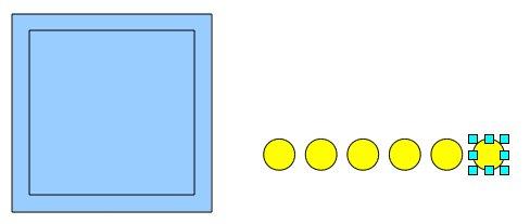 Obrázek 7: Vytvořená oka kostky