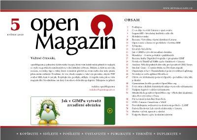 openMagazin 05/2010