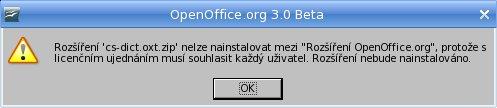 Zákaz inštalácie rozšírenia pre všetkých používateľov