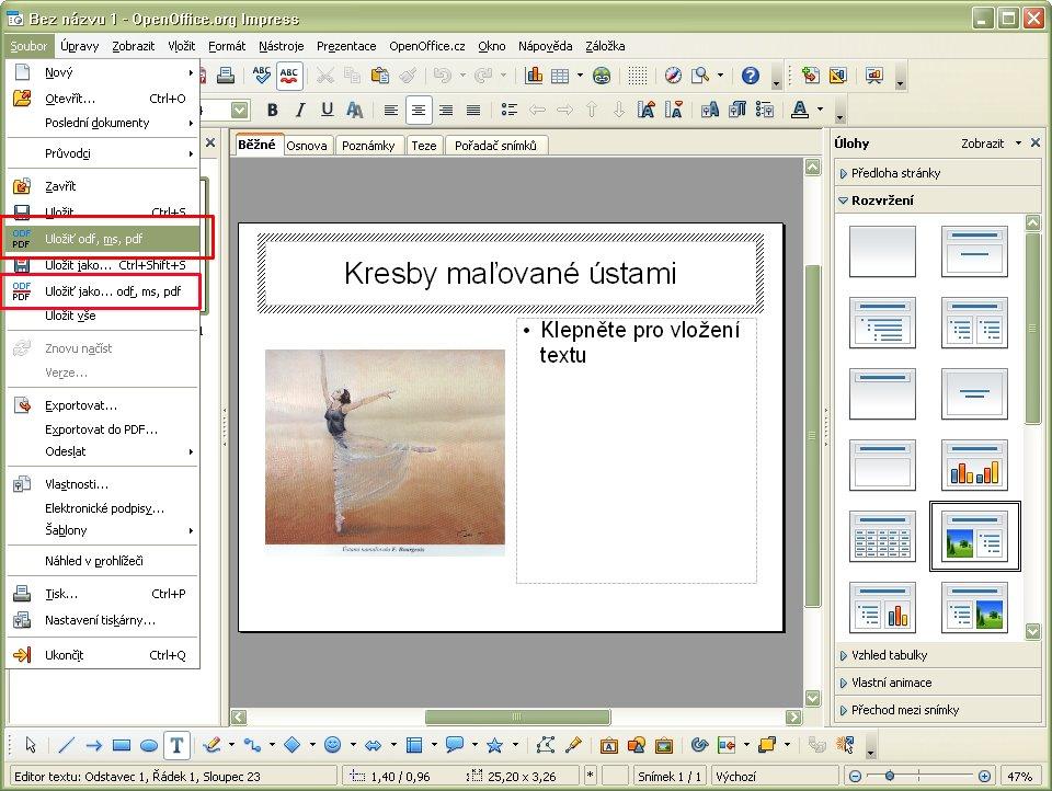 convertir pdf a openoffice writer