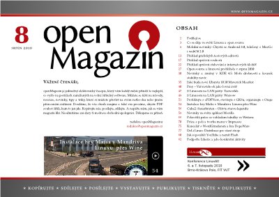 openMagazin 08/2010