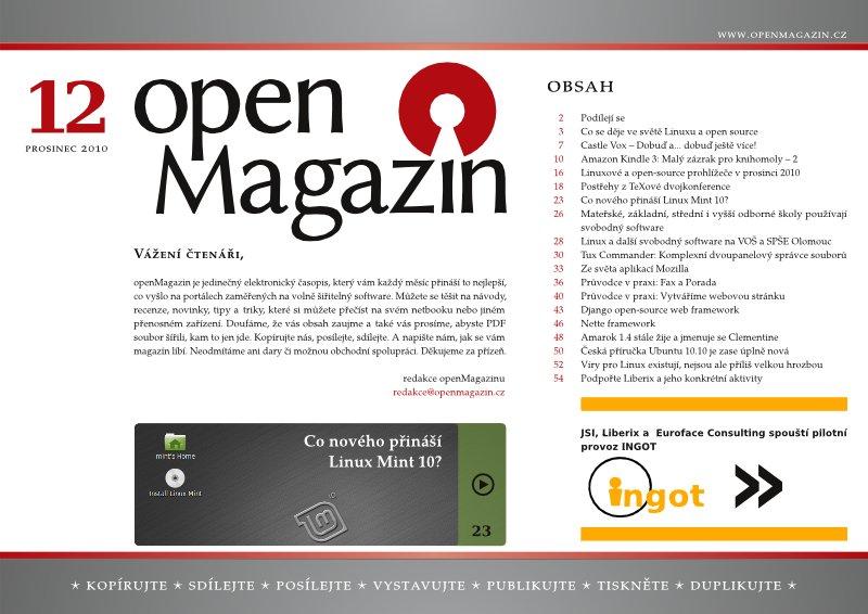 openMagazin 12/2010