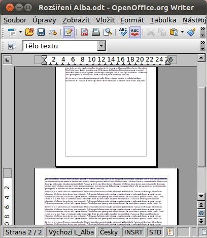 """Další stránka bude na šířku: """"Next page is landscape"""""""