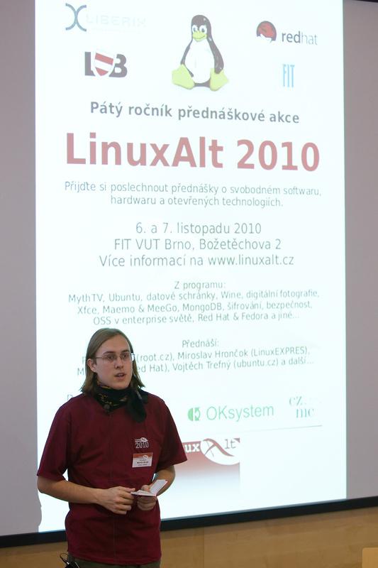 Z loňského ročníku LinuxAltu