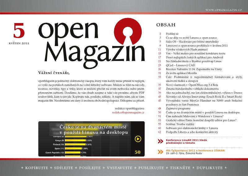 openMagazin 05/2011
