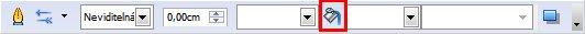 V panelu Čára a výplň stiskněte tlačítko Formát, abyste mohli upravovat barevný přechod