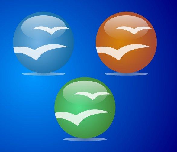 Tři vektorové podoby loga