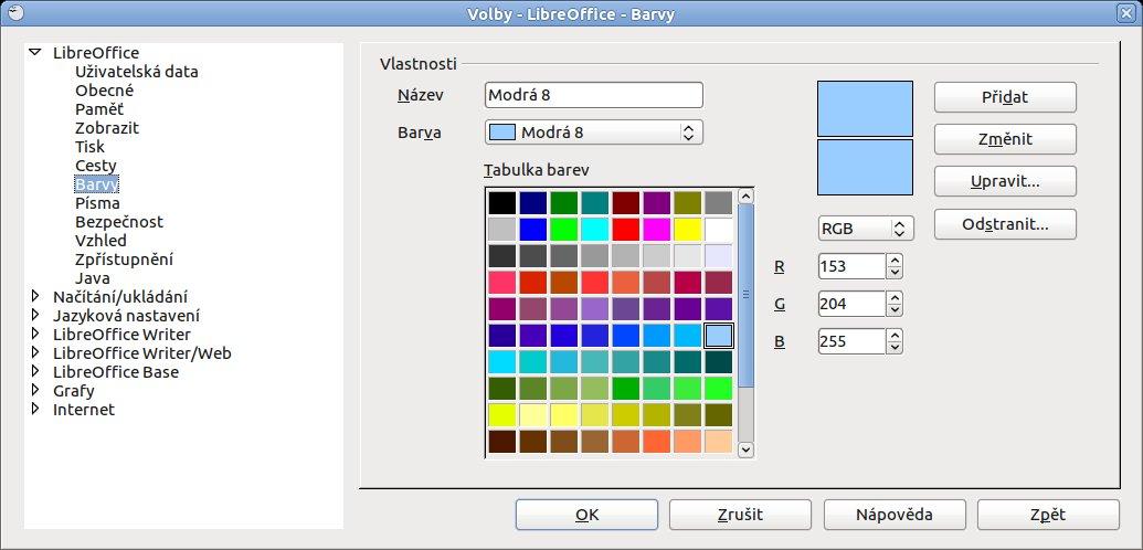 Volby – Barvy
