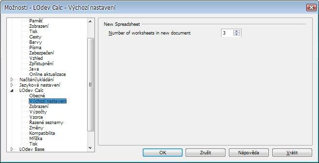 Další užitečná vlastnost, která prozatím v OpenOffice.org chybí