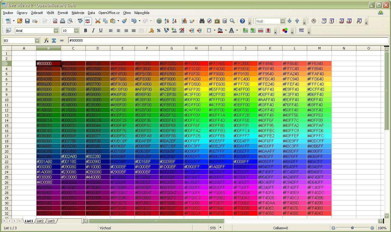 Vzorkovnica štandardných paliet rozšírenia