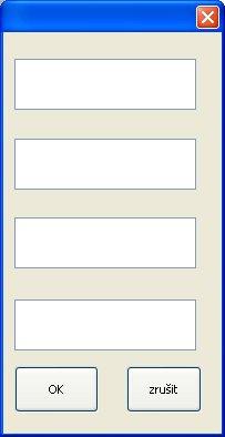 Dialogové okno s pojmenovanými tlačítky