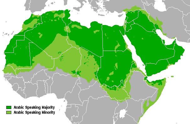 Arabsky mluvící země