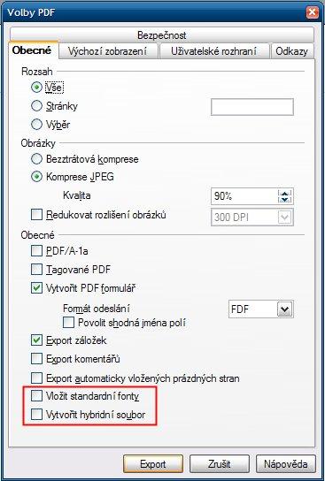 Volby v Apache OpenOffice