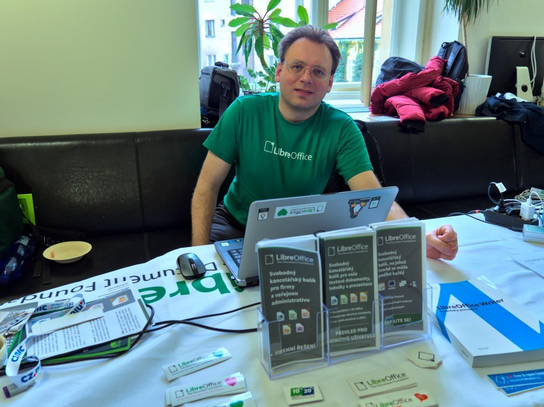 Stánek LibreOffice na konferenci InstallFest 2020