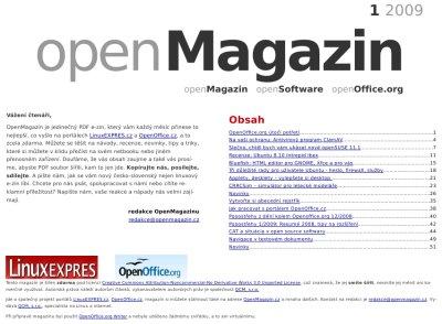 openMagazin 1/2009