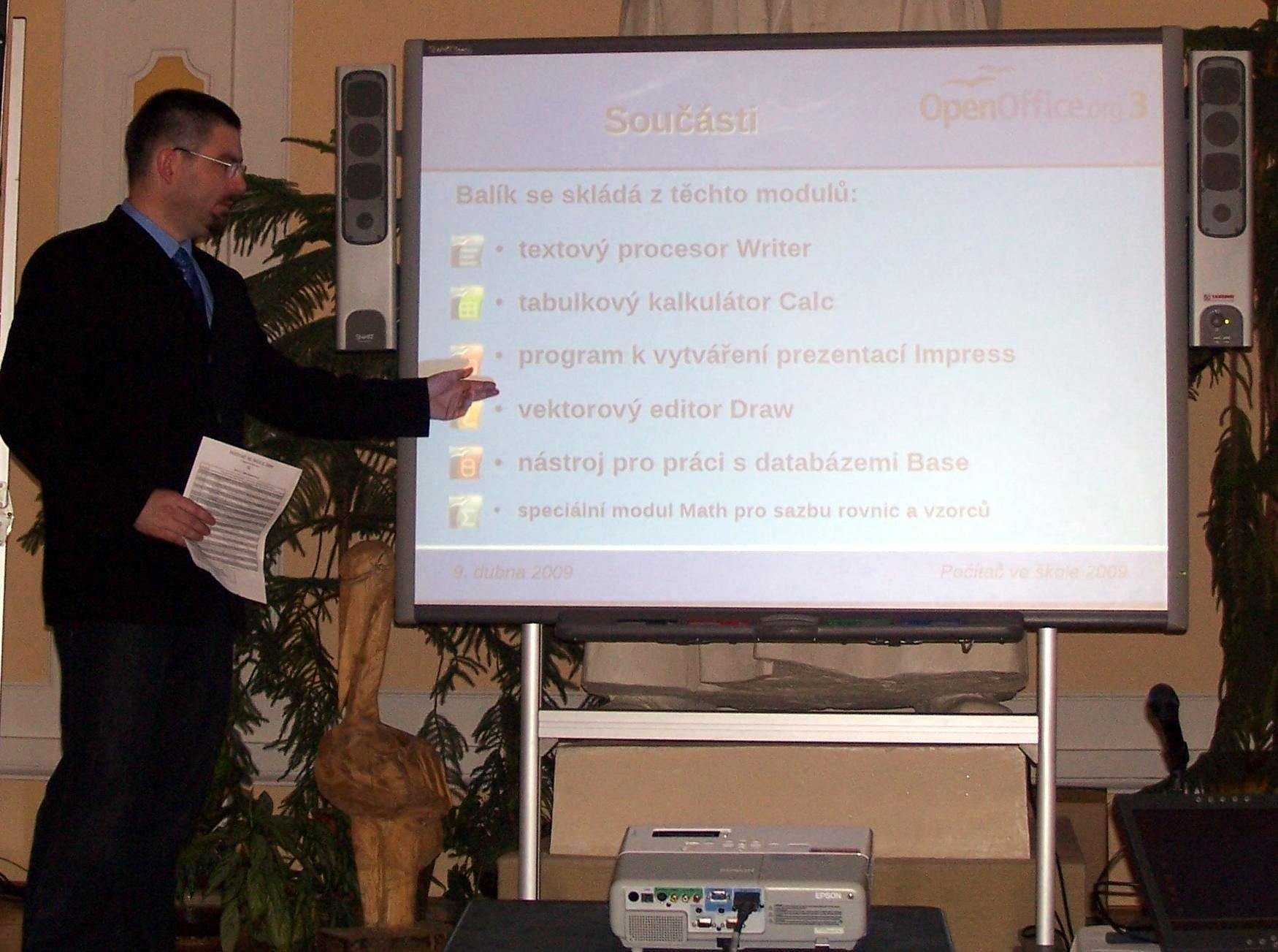 Počítač ve škole 2009 - Nové Město na Moravě
