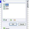 Okno výběru kontingenční tabulky