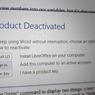 Microsoft Office deaktivován - instalujte LibreOffice