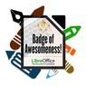 Elektronický odznak aktivním přispěvatelům LibreOffice