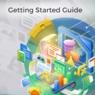 Obálka průvodce LibreOffice Getting Started 7.0