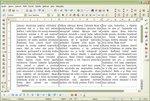 Manuálna úprava rozdelenia textu v stĺpcoch pomocou zalomenia riadku