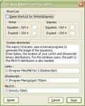 Nastavenie ciest aklávesových skratiek vOS Windows