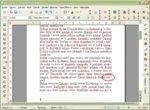 Ukážka delenia slov na konci odseku