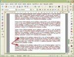 Vytlačený sériový dopis s niekoľkými medzerami namiesto neexistujúcich záznamov databázy