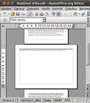 """Z označeného textu vytvoří stránku na šířku: """"Create a landscape page from the section"""""""