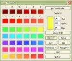 """Úprava prvej farby pomocou tlačidiel """"Farba"""""""
